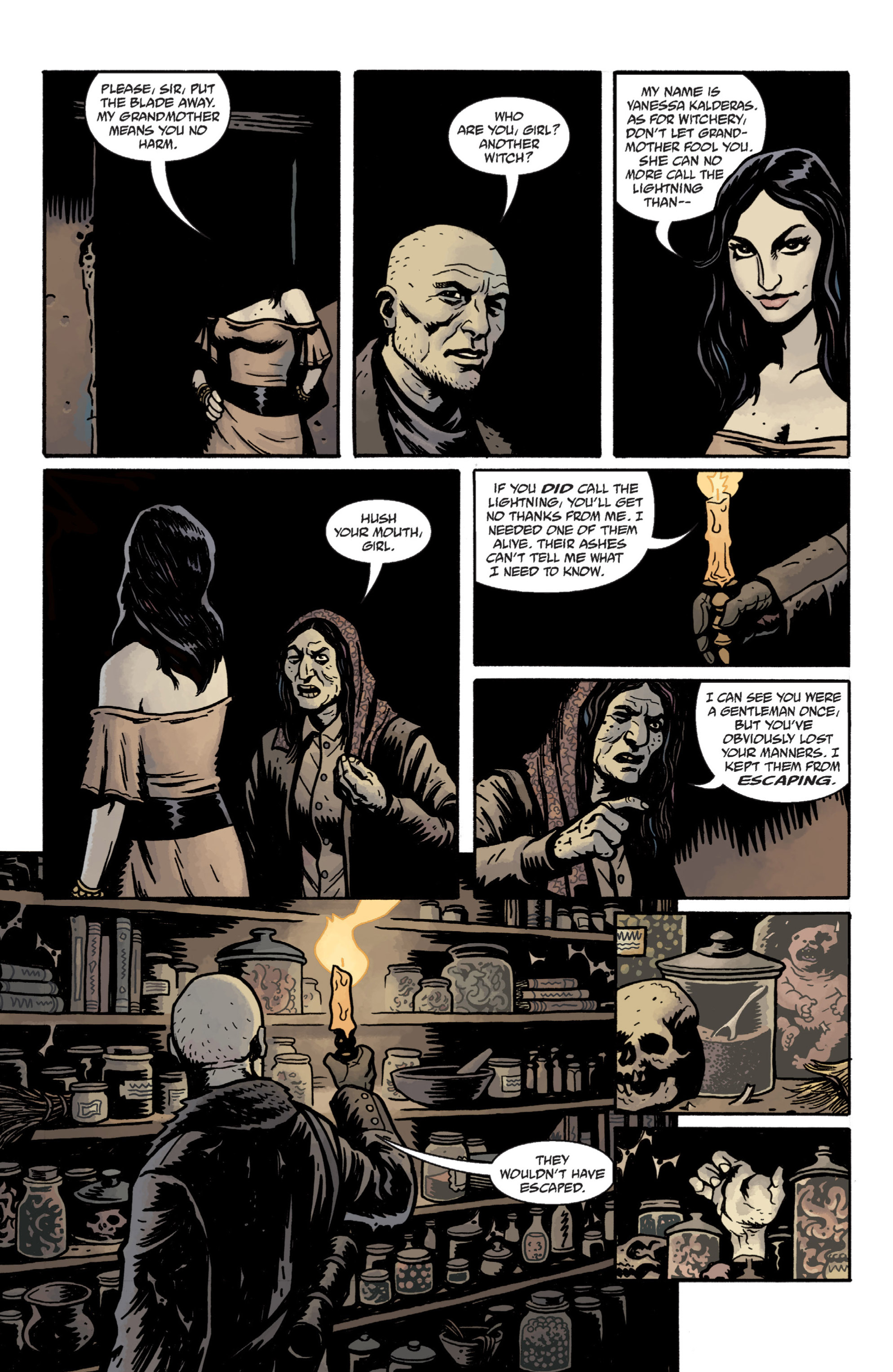 Read online Baltimore: The Plague Ships comic -  Issue # TPB - 22