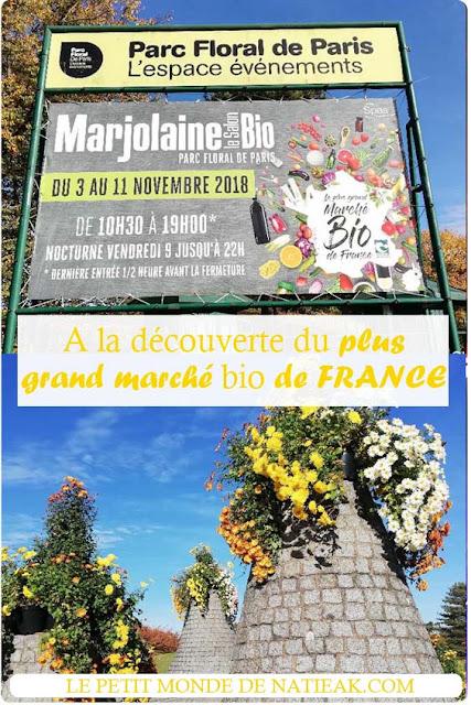 Salon Marjolaine : A la découverte du plus grand marché bio de France !