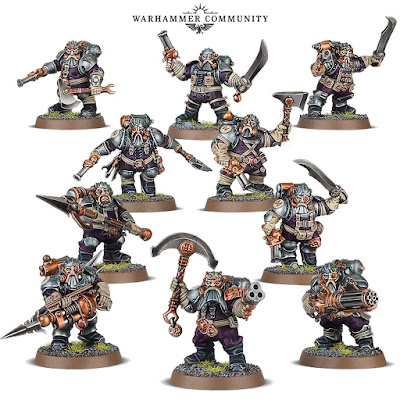 warhammer age of sigmar kharadron overlords arkanaut company battleline dwarfs miniatures