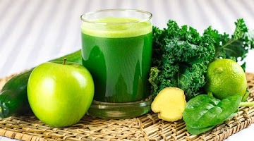 Suco de couve e gengibre na dieta: a bebida é prática e turbina a perda de peso!