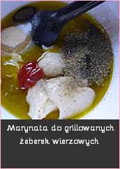 Marynata do grillowanych żeberek wieprzowych grill pomysł na grilla kuchnia okrasy lidl wg przepisu magdy gesler mechanik w kuchni