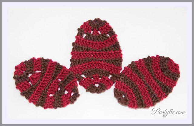Easter Egg Crochet Motif