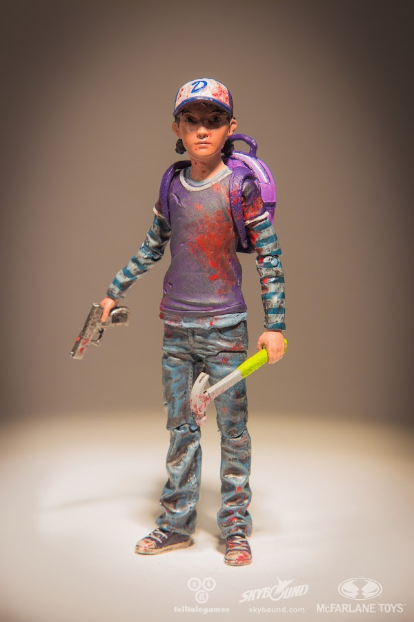 clementine walking dead toy