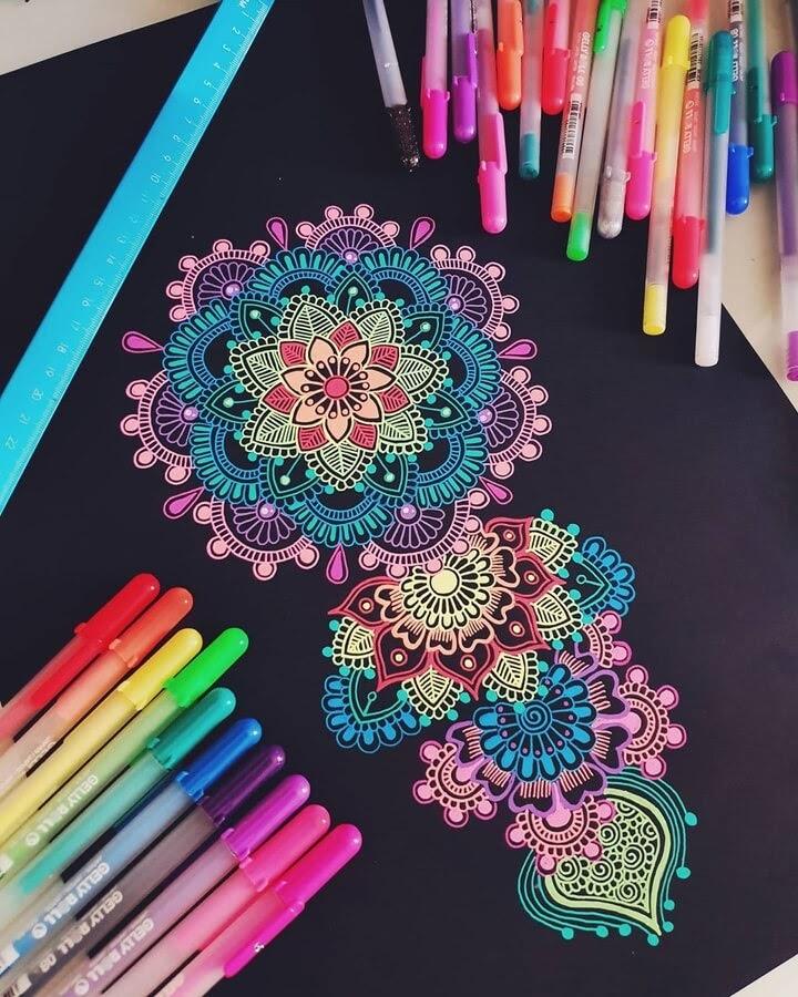 10-Mandala-and-Zentangle-Drawings-Simran-Savadia-www-designstack-co