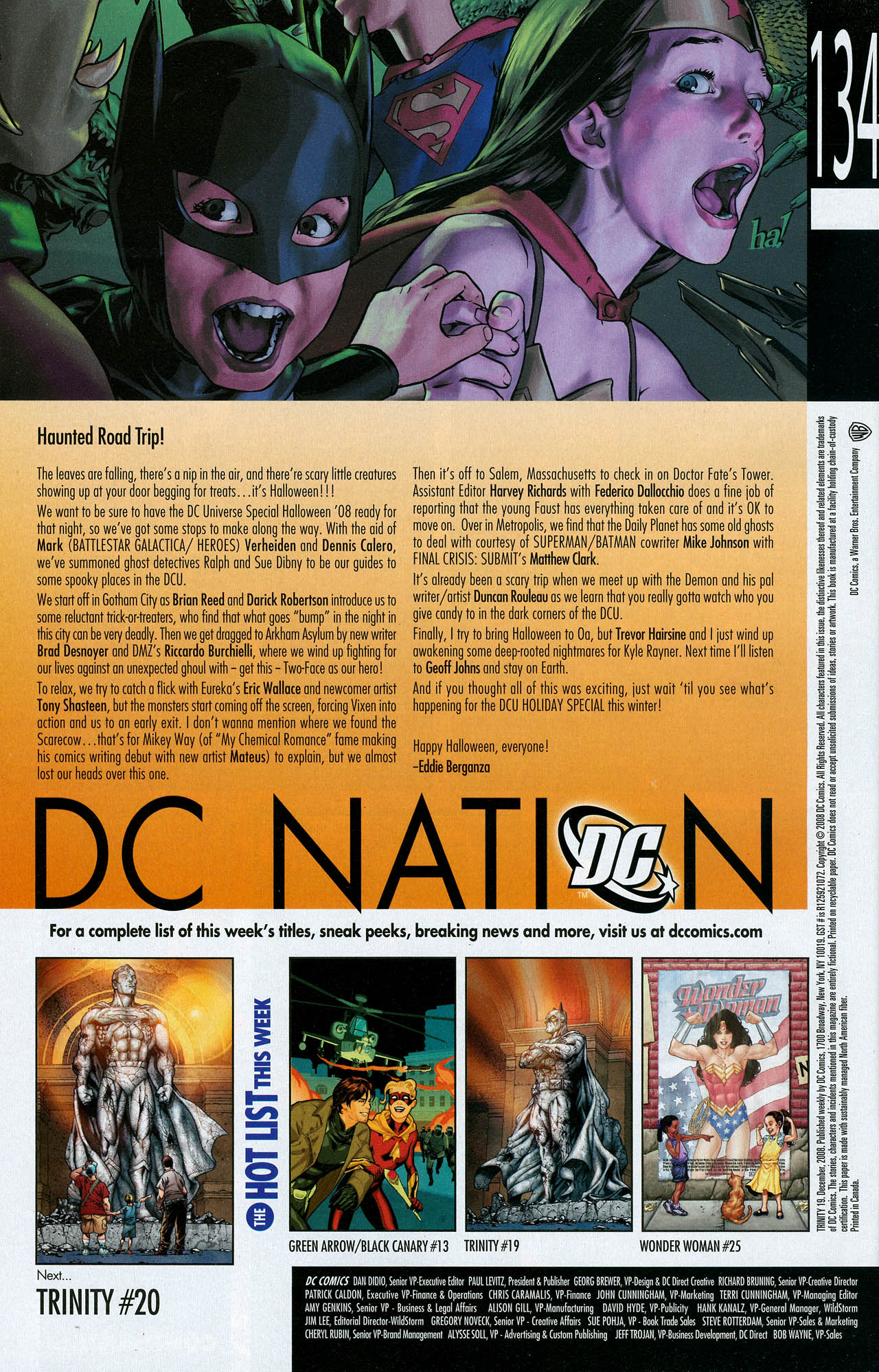 Read online Trinity (2008) comic -  Issue #19 - 34