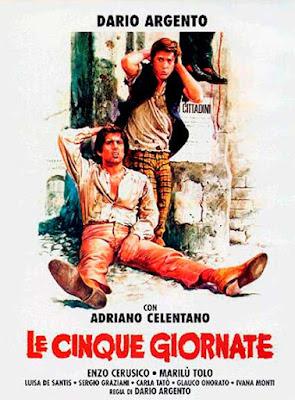 La quinta jornada, Dario Argento, Adriano Celentano