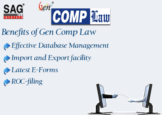 Gen Company Law A Roc And Mca E Filing Software Sag