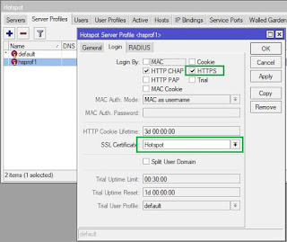 Setting SSL HTTPS Hotspot MikroTik