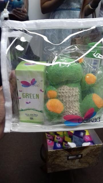 Kit infantil green - belanaselfie
