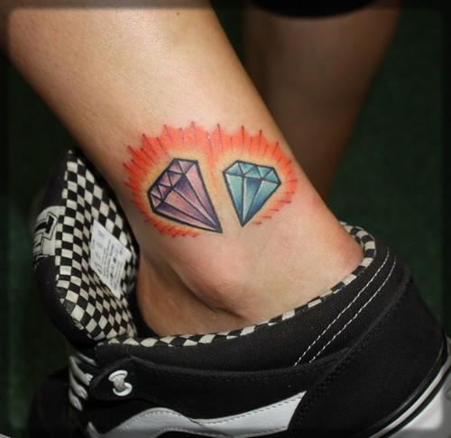 Diament Tatuaż Tatuaże 100 Pro