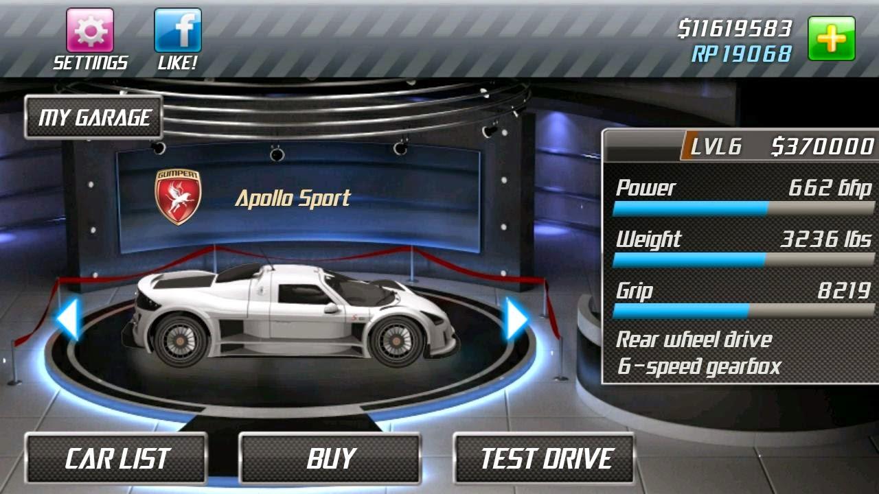 Image Result For Drag Racing Mod Apka