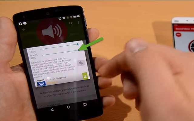 تطبيق جديد يرفع مستوى الصوت في الهاتف إلى مستوى مرتفع جدا وبدون روت