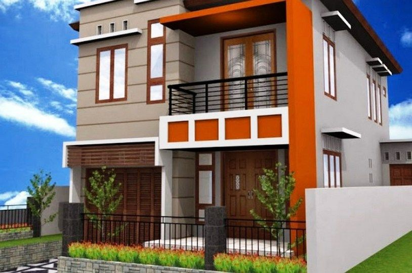 Foto Desain Rumah Type 36 Minimalis 2 Lantai