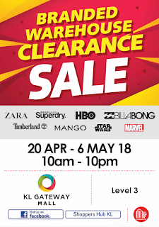ZARA Superdry & Branded Warehouse Clearance Sale 2018