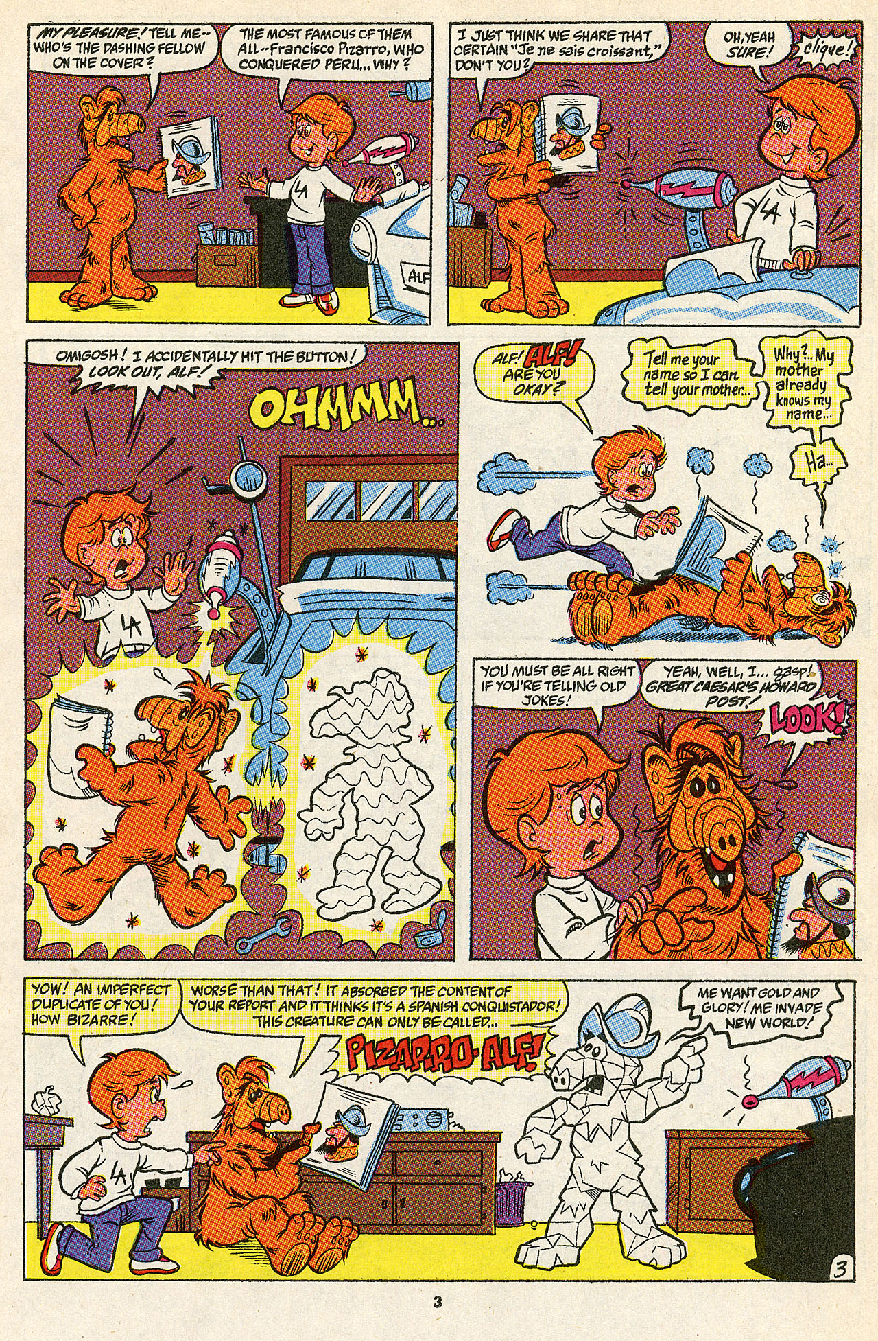 Read online ALF comic -  Issue #39 - 5