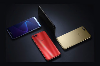 This telephone volition move shortly launched inwards the  Honor V10 launched alongside a infinity display