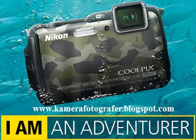 Harga Kamera Nikon Coolpix AW120 Underwater Tahun 2015