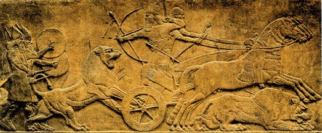 Relieves de Asurbanipal Comentario