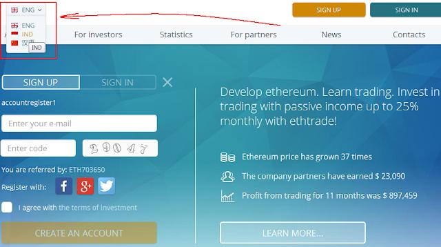 Investasi bitcoin Ethtrade