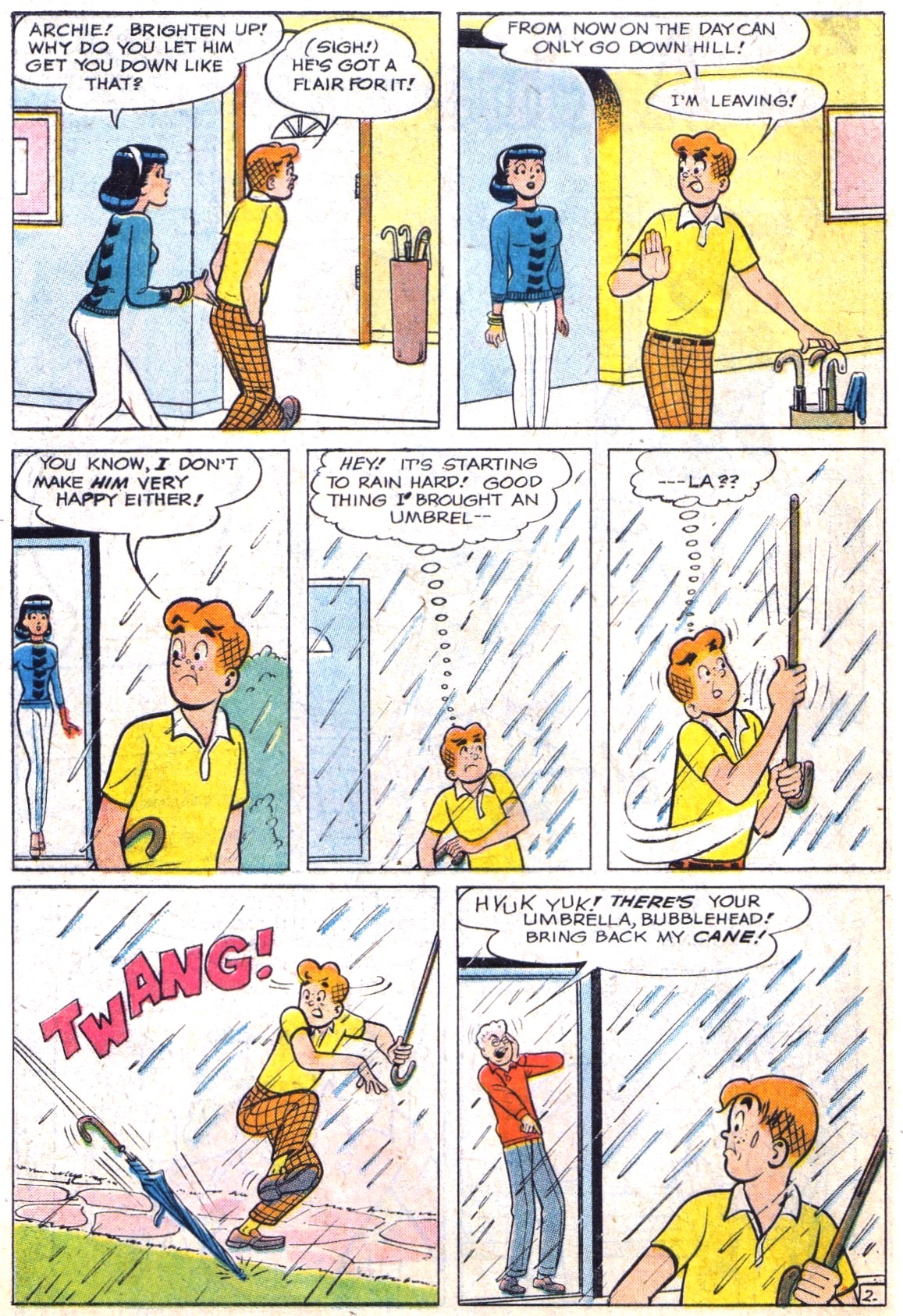 Read online Archie (1960) comic -  Issue #142 - 14
