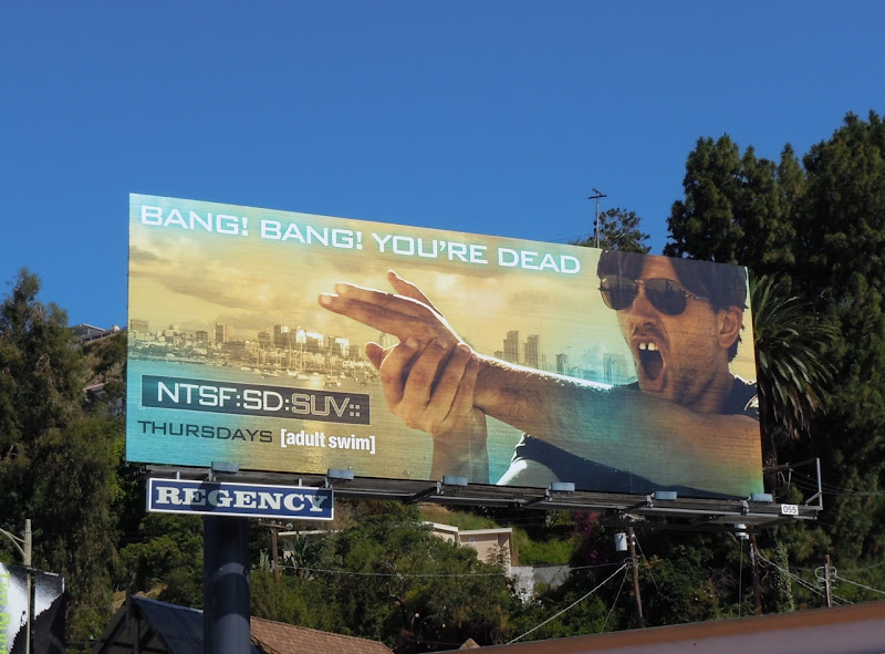 NTSF:SD:SUV TV show billboard