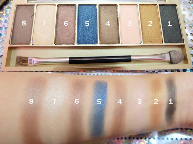 Koleksi Warna-Warni Eye Shadow Tren Warna Gili Lombok