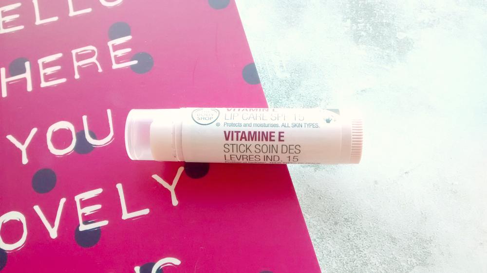 The Body Shop Vitamin E lip balm