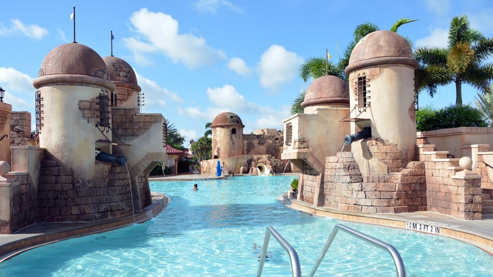 The Disney Fountain of Youth DISNEYS CARIBBEAN BEACH RESORT