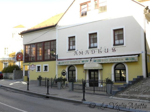 Trattoria Amadeus a Ptuj in Slovenia