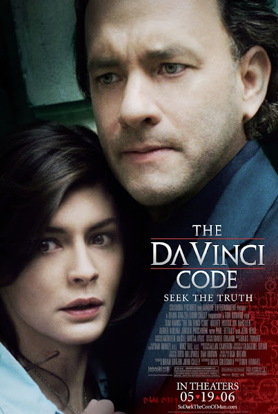 Poster of The Da Vinci Code 2006 Extended 720p Hindi BRRip Dual Audio