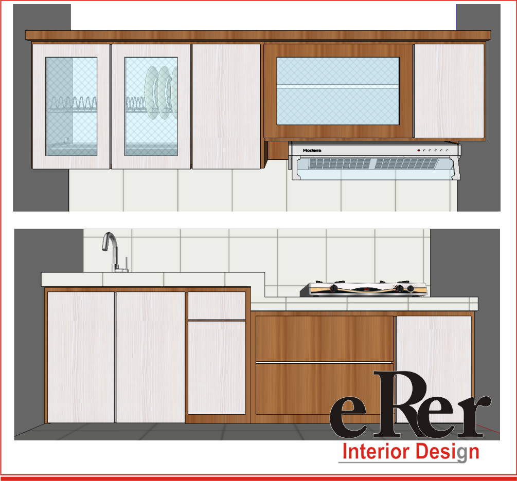 Erer interior kitchen set solo kitchen set jogja for Desain kitchen