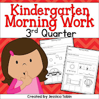 Morning Work- 3rd quarter that covers reading, language, math, grammar, and more