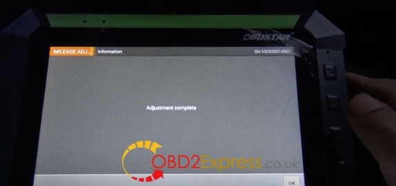Obdstar X300 DP correct odometer on jeep (13