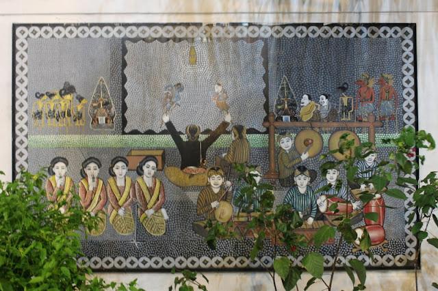 Lukisan Pertunjukan Wayang Kulit