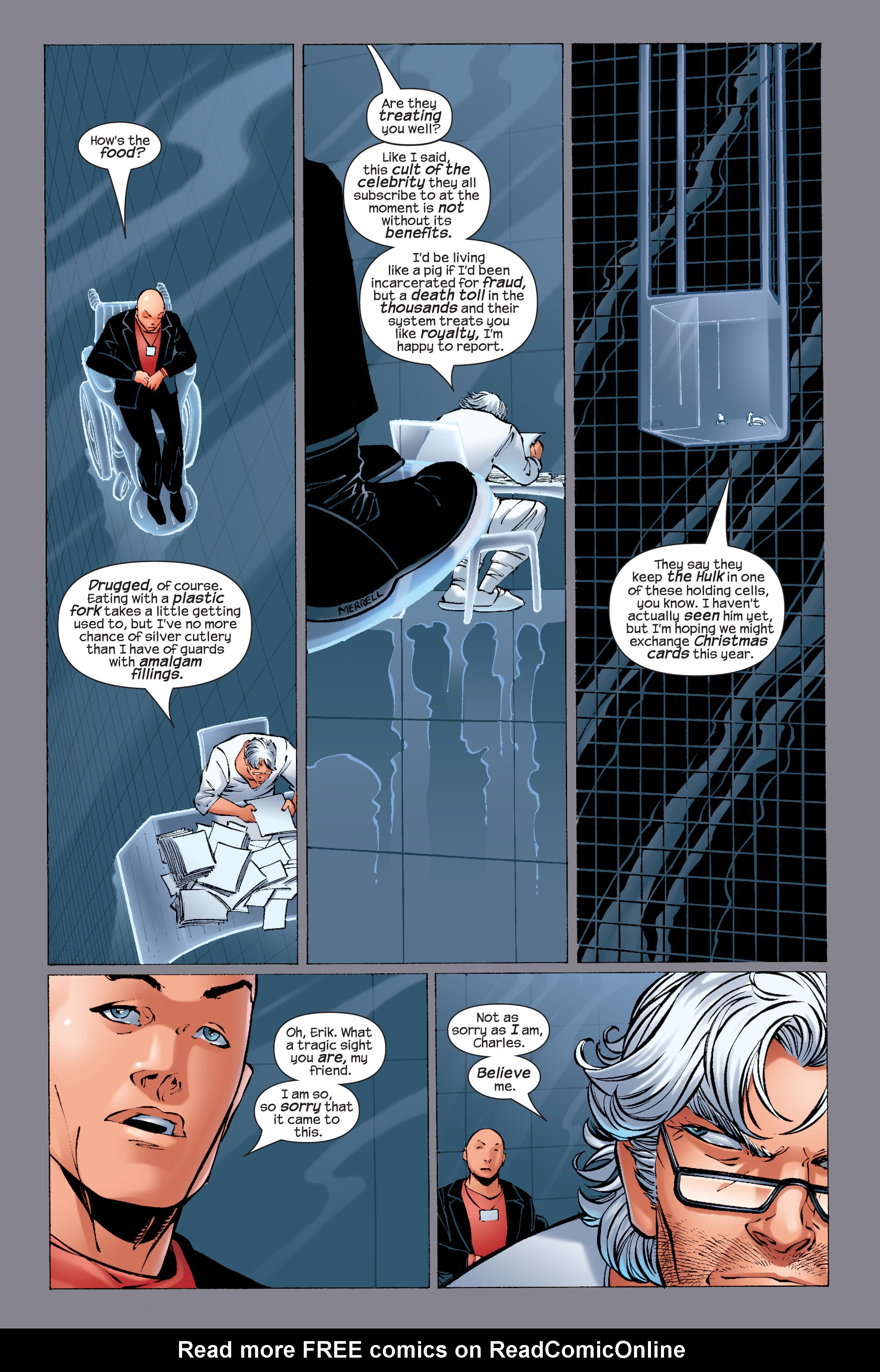 Read online Ultimate X-Men comic -  Issue #33 - 9