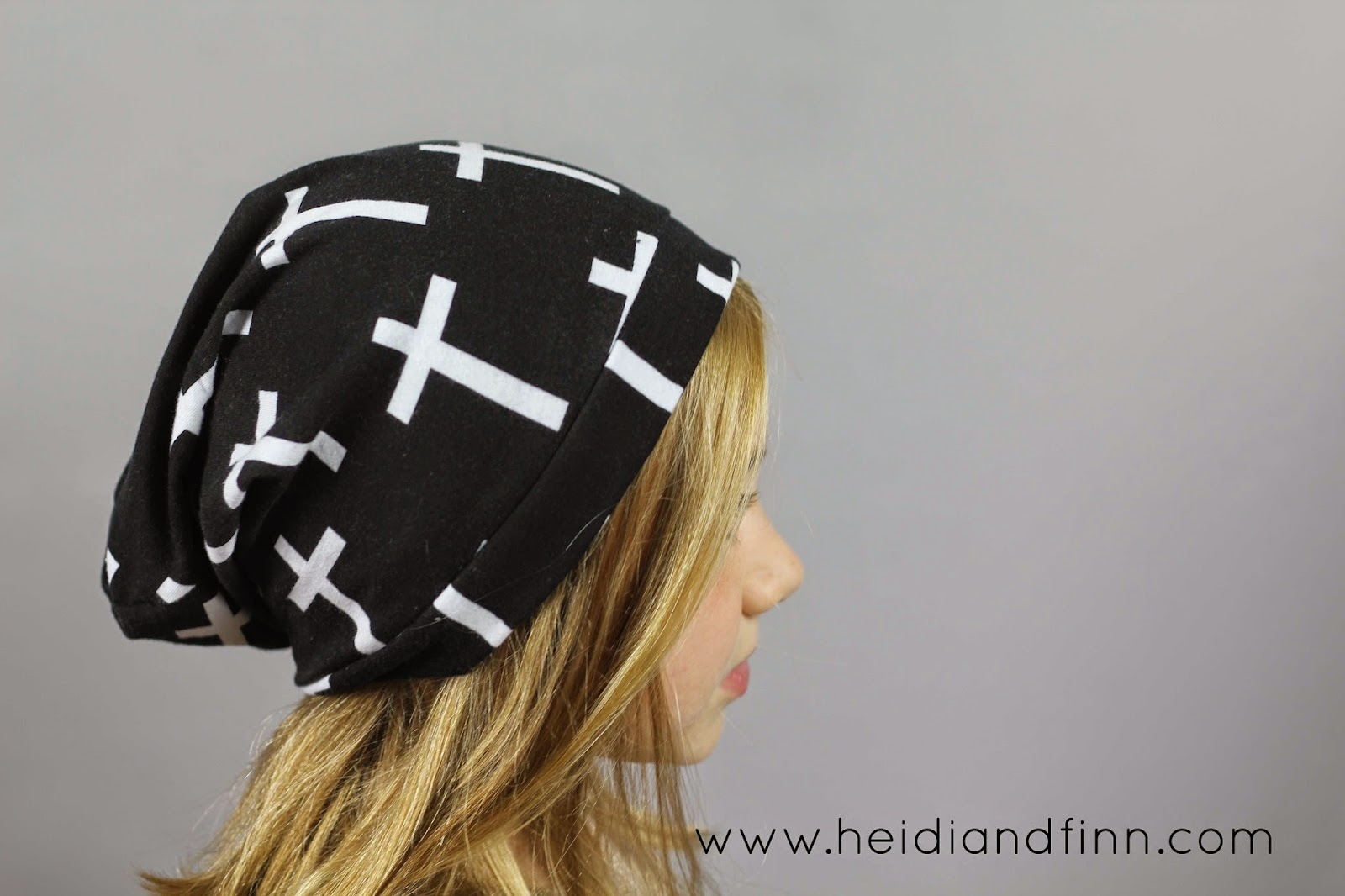 HeidiandFinn modern wears for kids  Slouchy Beanie hat - FREE ... 64bd06799ec