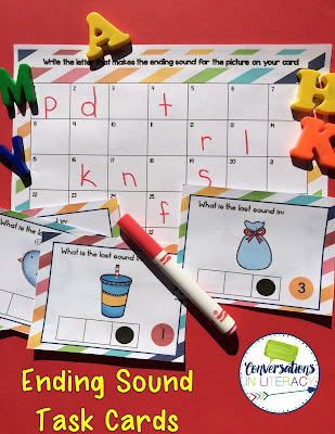 activities for end sounds