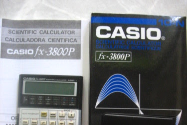 Program survey kalkulator casio fx- 3800