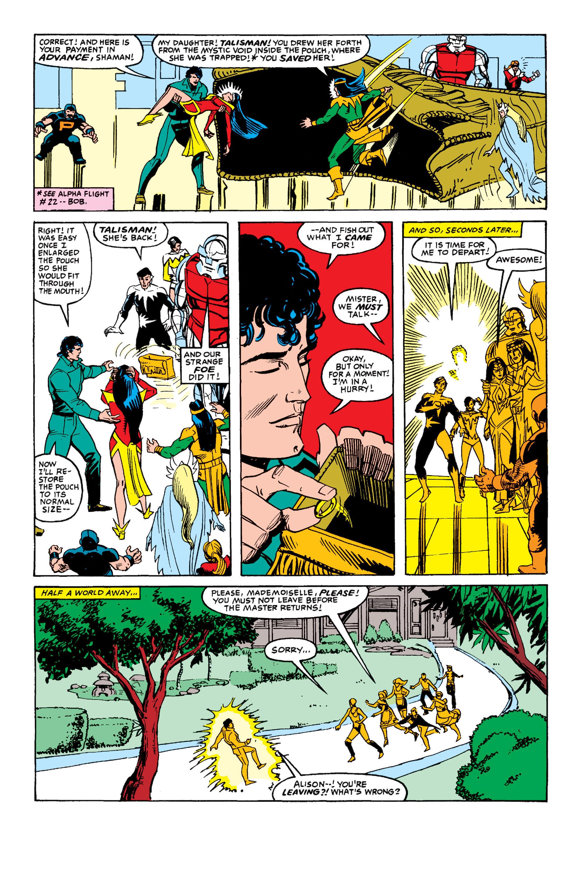 Read online Secret Wars II comic -  Issue #4 - 18