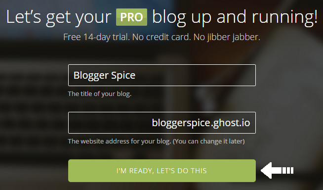 Ghost! Simple and Powerful Blogging Platform