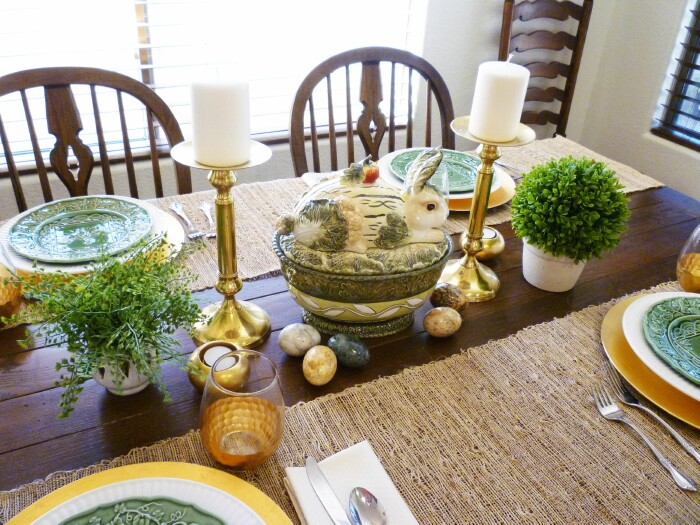 Today I Am Using It As The Centerpiece Of My Breakfast Easter Table And  Surrounding It With A Few Of My Marble Egg Collection.