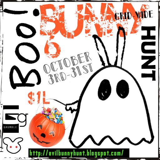 BOO! Bunny 6 Hunt