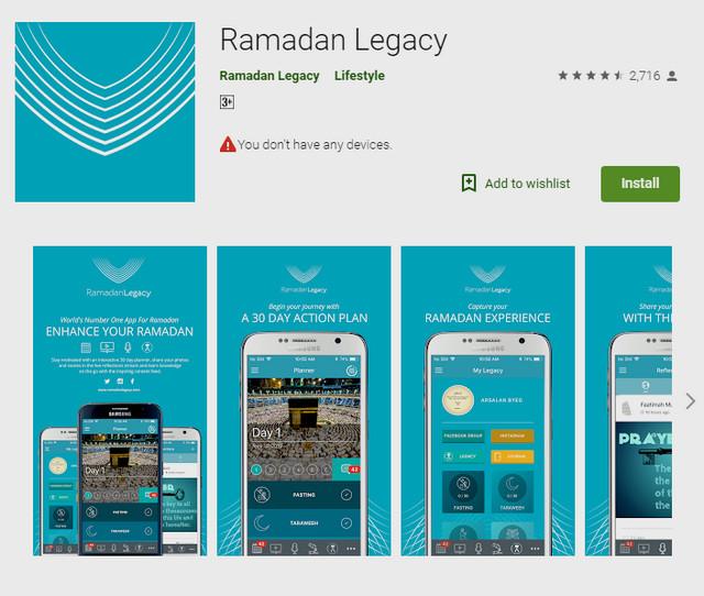 أفضل 5 تطبيقات لشهر رمضان 2019 لاجهزة الاندرويد والايفون