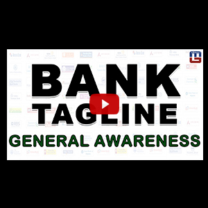 Bank Tagline | General Awareness | All Competitive Exams