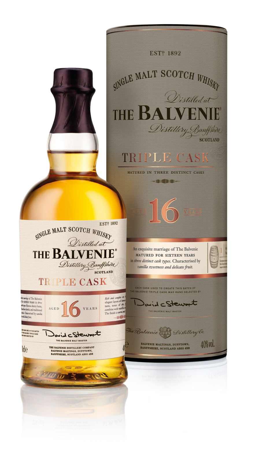 The Balvenie single malt scotch whisky (Doublewood 12 Years)