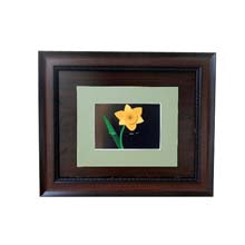 Single Flowered Brown Wall Frame Nigeria
