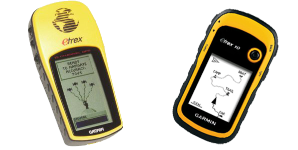 Electronic Mountain Leader: Garmin eTrex 10 - old yella'