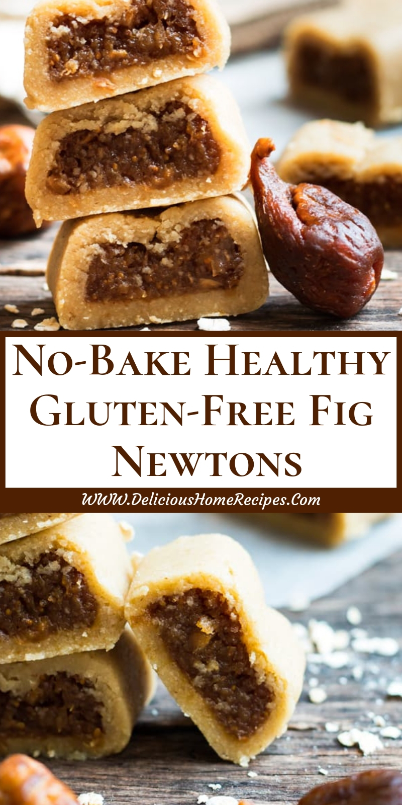 No-Bake Healthy Gluten-Free Fig Newtons