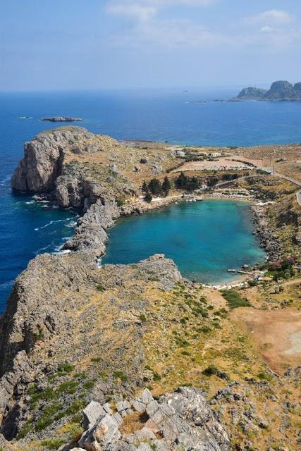 St Paul's Bay  Rhodes, Greece
