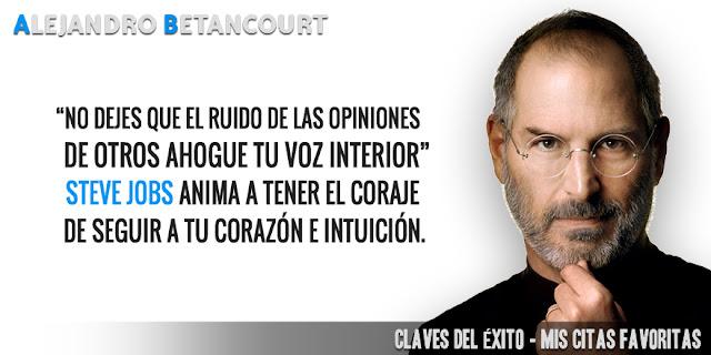 Alejandro Betancourt citas favoritas: No dejes que el ruido de las opiniones de otros ahogue tu voz interior